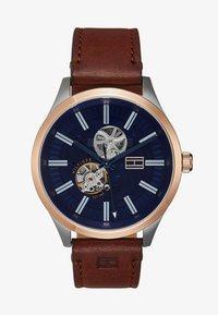 Tommy Hilfiger - WATCH - Watch - brown/blue - 1