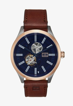 WATCH - Zegarek - brown/blue