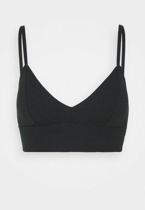 Bustier - casual black