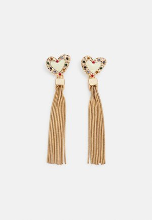 PCPETA EARRINGS - Earrings - gold-coloured/multi