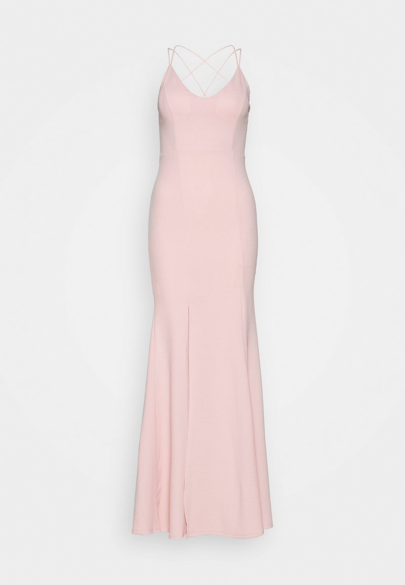 WAL G. - FITTED SPLIT DRESS - Occasion wear - blush