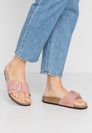 MADRID BIG BUCKLE - Pantuflas - old rose