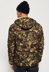 Superdry - Winter jacket - green - 2
