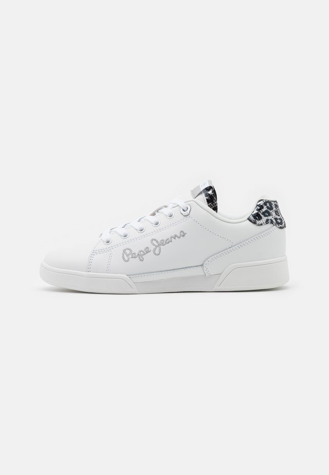 LAMBERT LOGO - Sneakers basse - white