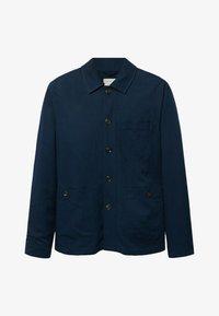 Mango - MARTE - Giacca di jeans - dunkles marineblau - 5