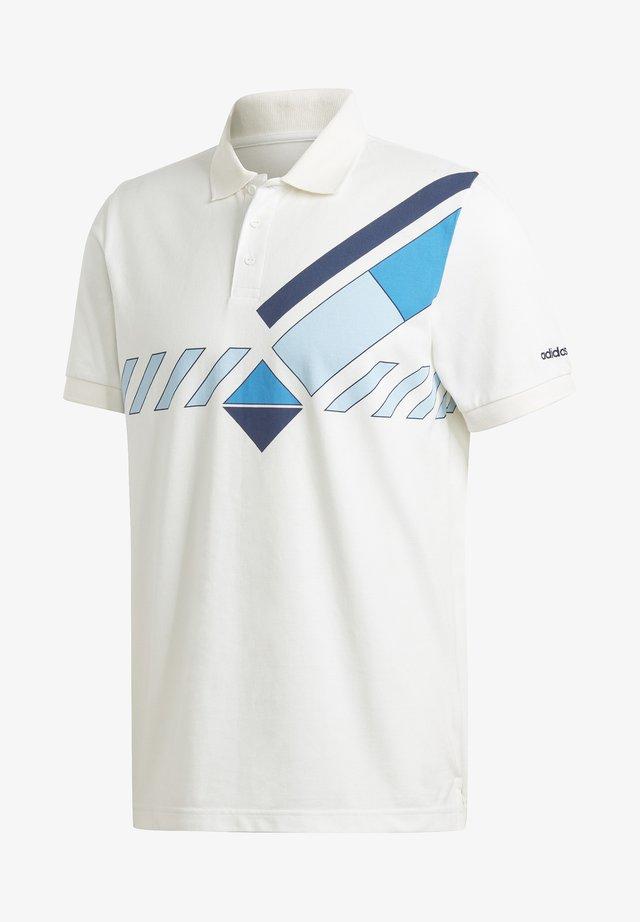 ARC TENNIS POLO - Polo shirt - white