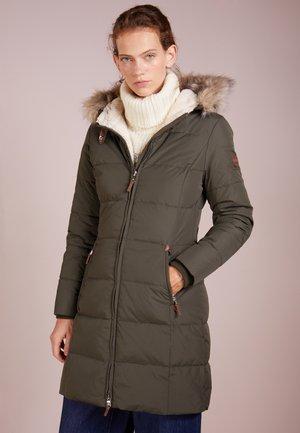 HAND TRIM  - Płaszcz puchowy - litchfield loden