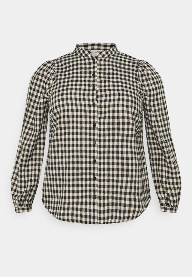 CARFANDO CHECK - Košile - black/creme