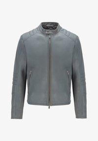 BOSS - MUBA - Leather jacket - grey - 4