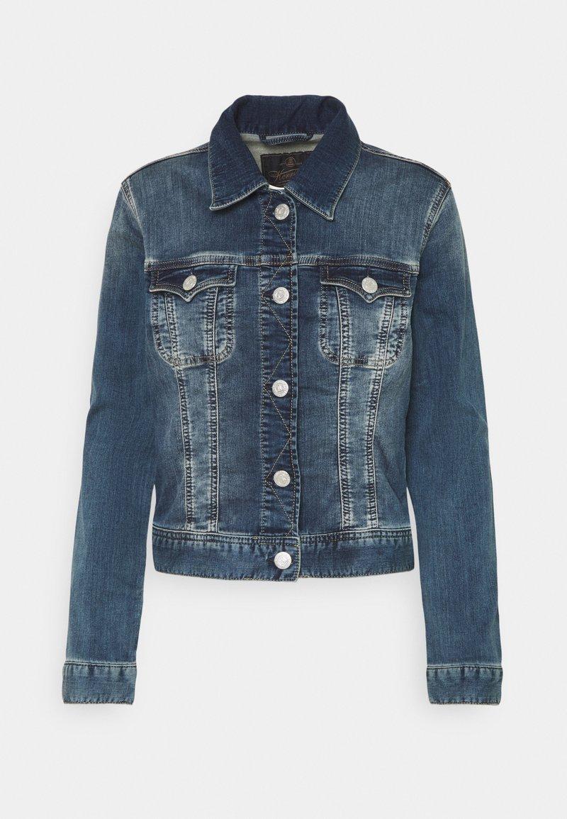 Herrlicher - JOPLIN JOGG - Denim jacket - blue denim
