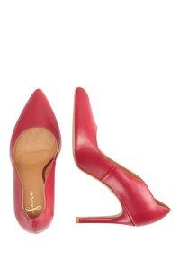 faina - Sandalen met hoge hak - red - 0