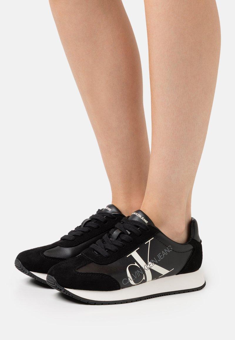 Calvin Klein Jeans - JODIS - Sneakersy niskie - black