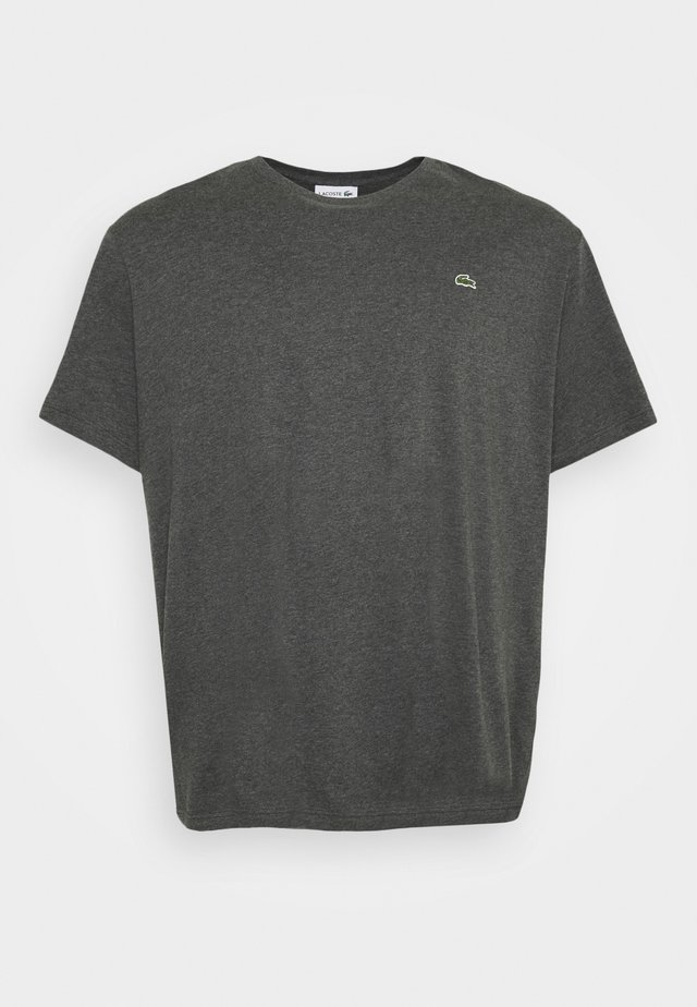 Basic T-shirt - gris chine