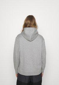 Nike SB - ICON HOODIE UNISEX - Hoodie - grey heather/black - 2