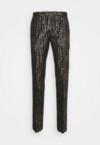 Twisted Tailor - SAGRADA SUIT - Garnitur - black/gold - 3