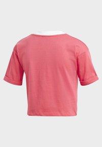 adidas Originals - CROP TOP - Basic T-shirt - pink - 4