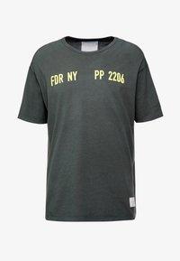 Replay Sportlab - T-shirt con stampa - dark green - 4