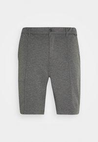 Calvin Klein Tailored - REGULAR FIT PUNTO MILANO - Kraťasy - dark grey heather - 0