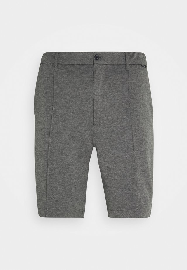 REGULAR FIT PUNTO MILANO - Shorts - dark grey heather
