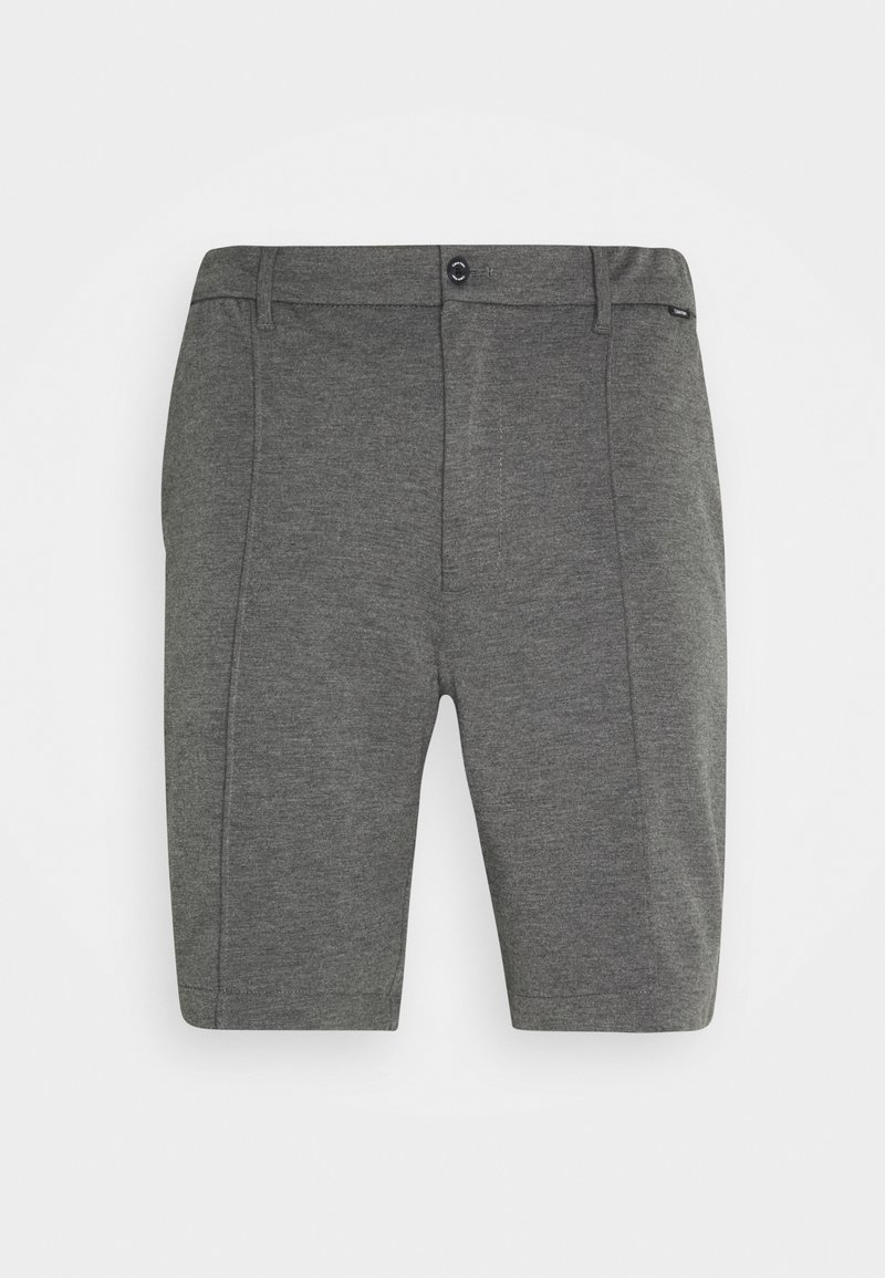 Calvin Klein Tailored - REGULAR FIT PUNTO MILANO - Kraťasy - dark grey heather
