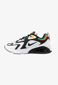 Nike Sportswear - AIR MAX 200 - Sneakers - white/black/bright crimson/university gold/lucid green - 1