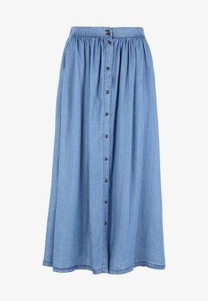 MOIRA - A-line skirt - dark blue