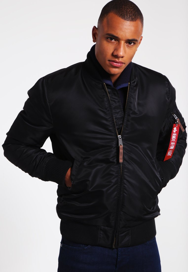 Alpha Industries - Kurtka Bomber - black