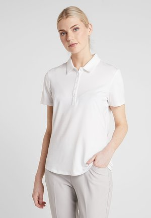 MICRODOT SHORT SLEEVE - Polo - white