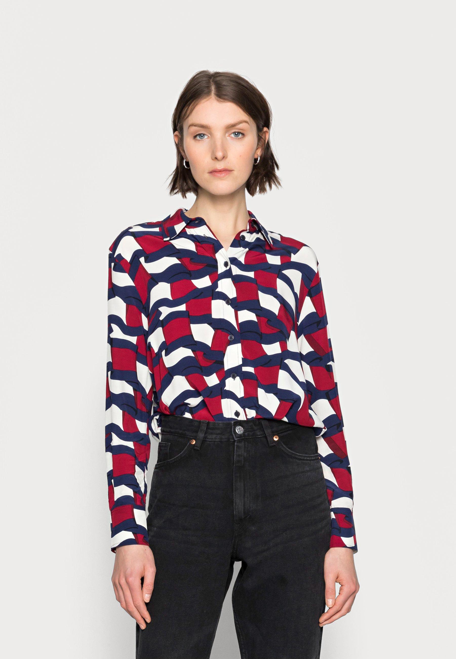 Women PRINTED BLOUSE - Button-down blouse