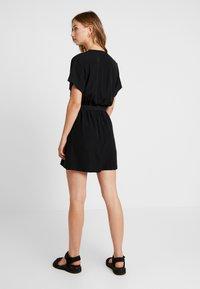 Weekday - JESS DRESS - Denní šaty - black - 3