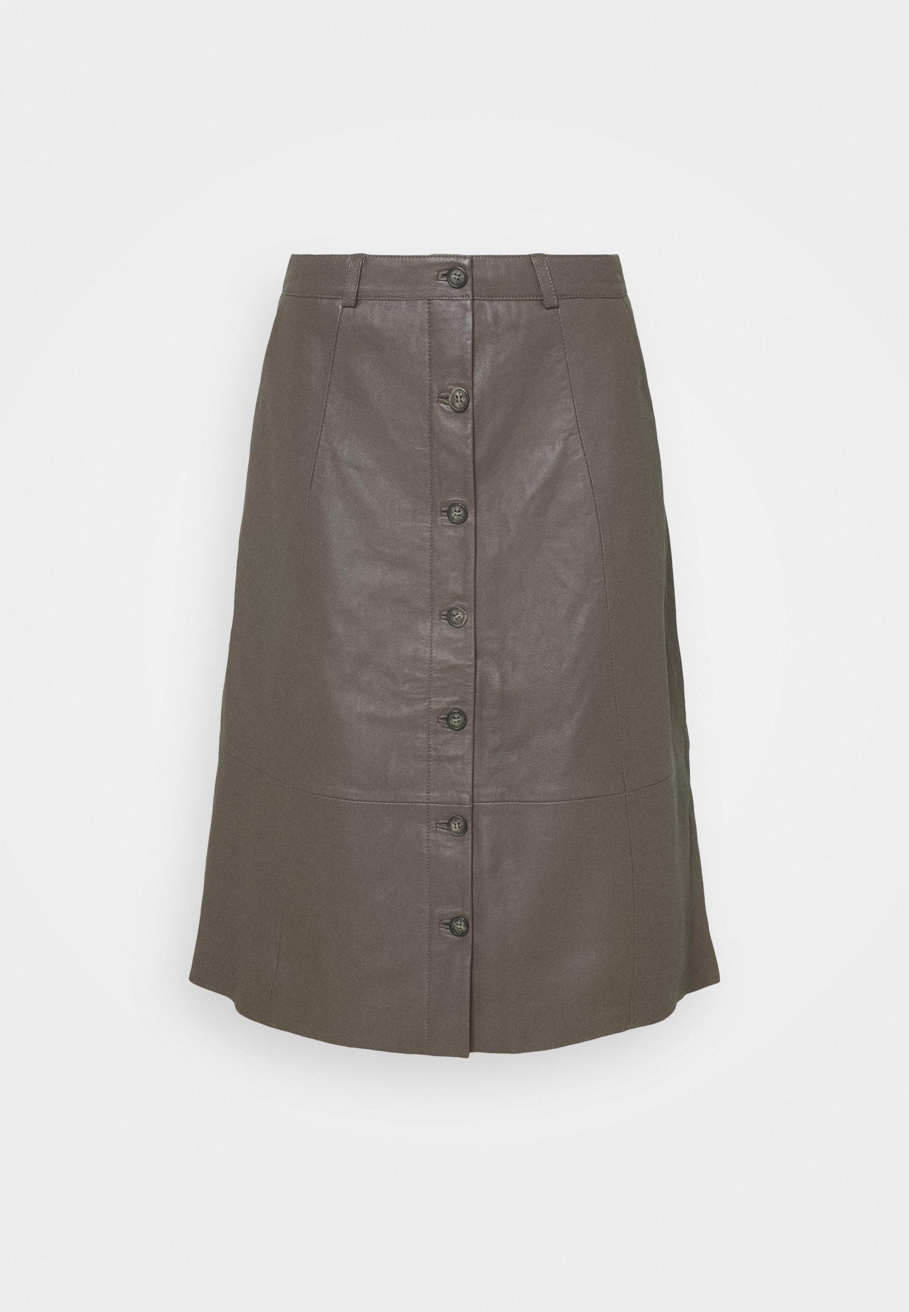 Femme CUBENJA - Jupe en cuir
