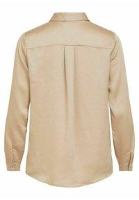 Vila - Button-down blouse - humus - 5