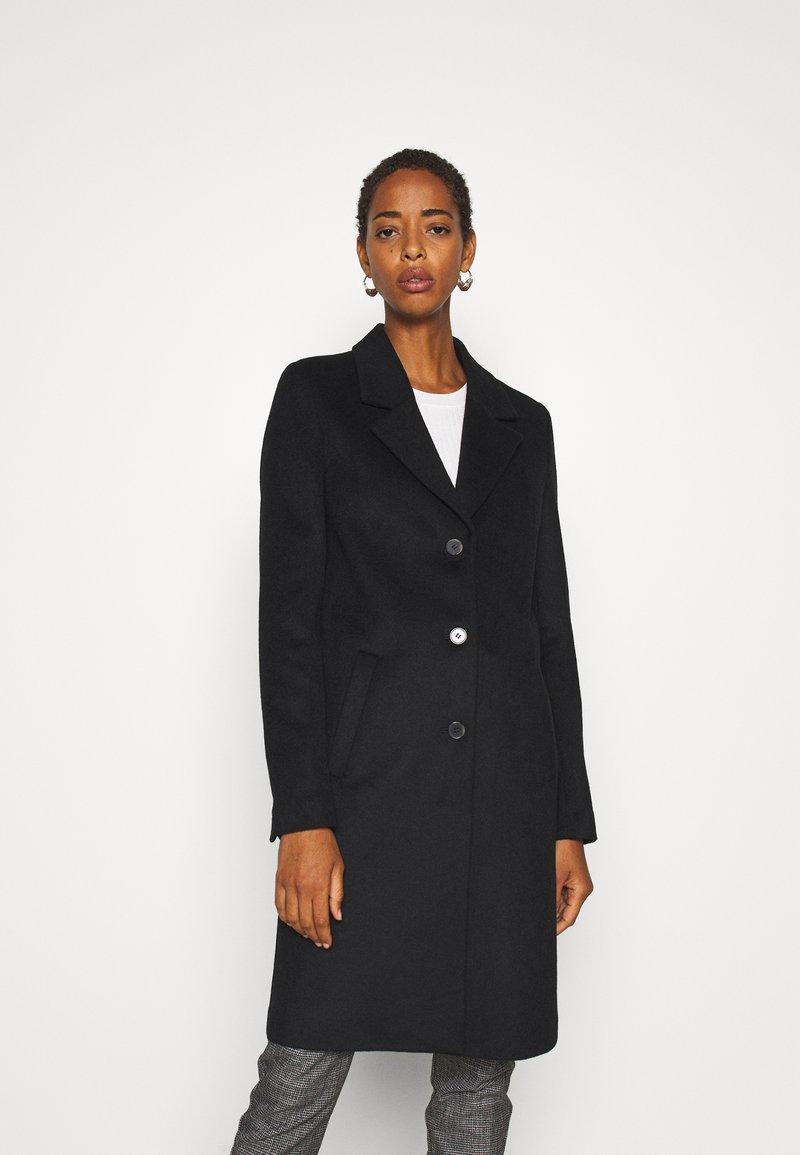Selected Femme Tall - SLFSASJA COAT  - Klasický kabát - black