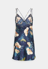 Hunkemöller - LOTUS BIRD - Nightie - dark teal - 1