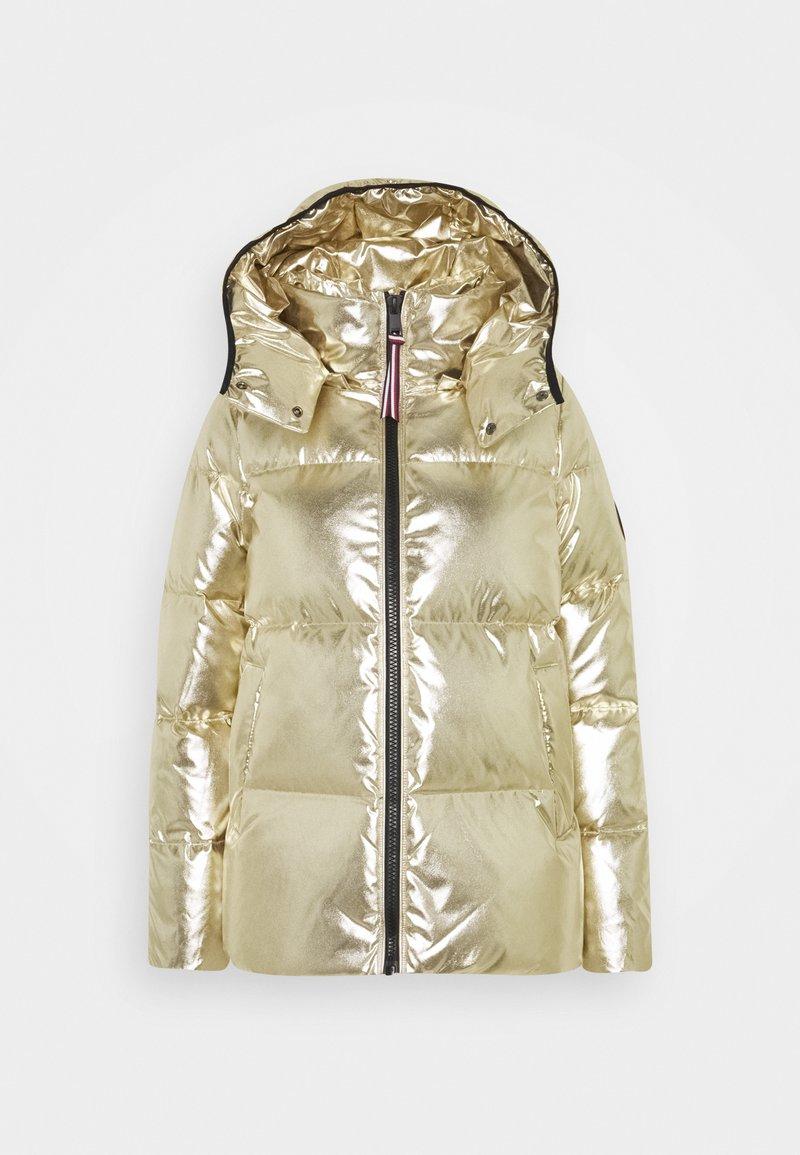 Tommy Hilfiger - HIGH GLOSS PUFFER - Down jacket - gold