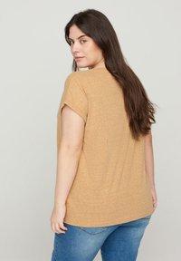 Zizzi - Basic T-shirt - orange - 2