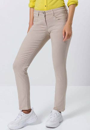 Trousers - cream