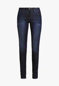 edc by Esprit - HIGH SKIN PANTS DENIM - Slim fit jeans - dark-blue denim - 5