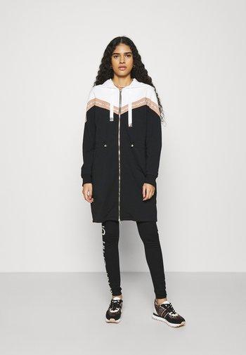 FELPA APERTA - Zip-up sweatshirt - nero