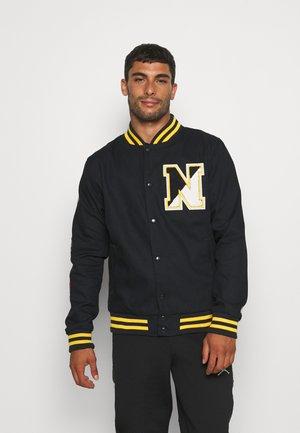 HERITAGE VARSITY JACKET - Training jacket - navy