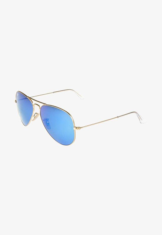 AVIATOR - Zonnebril - blau/goldfarben