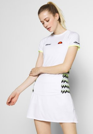 FERVORE - Print T-shirt - white