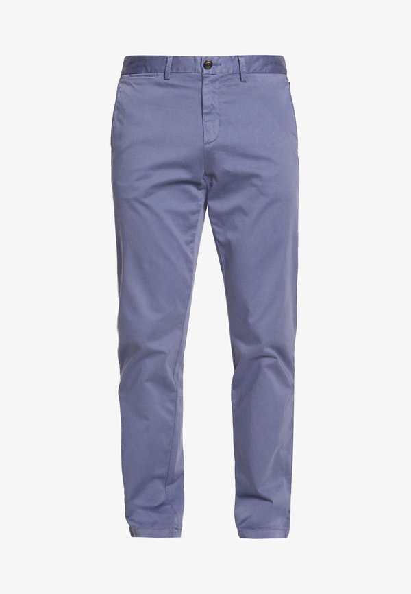 Tommy Hilfiger DENTON FLEX - Chinosy - blue/szaroniebieski Odzież Męska RJJA