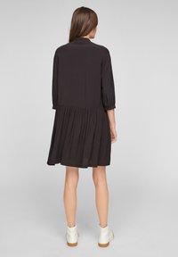 Q/S designed by - Shirt dress - black - 2