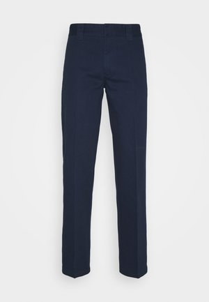 DOT WORKPANTS - Trousers - dark navy