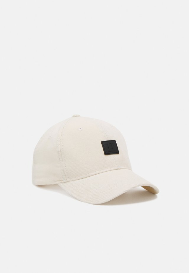 PIECE BASEBALL - Cap - off white/black