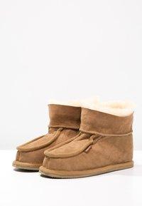 Shepherd - LENA - Slippers - chestnut - 7