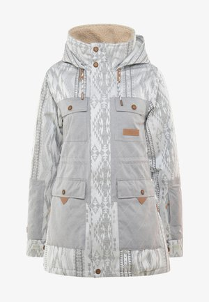 ASHTON JACKET - Snowboardová bunda - glacier grey