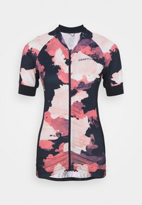 ENDUR GRAPHIC  - Cycling Jersey - blaze/coral