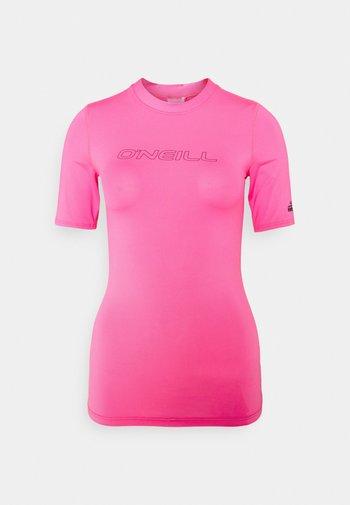 BIDART SKIN - Rash vest - rosa shocking